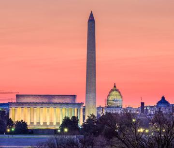 Washington Monument - Cloud of Goods