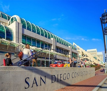 Cloud of Goods at San Diego Convention Center