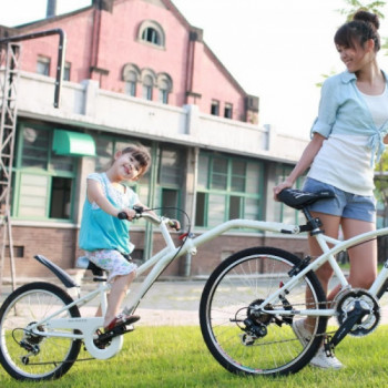 Co-Pilot Bike Trailer rentals in Miami - Cloud of Goods