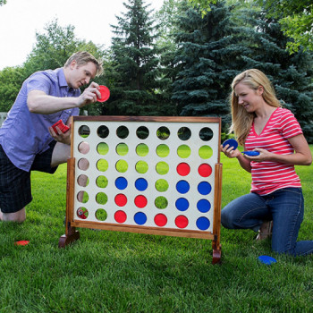 Giant Connect 4 in a Row rentals - Cloud of Goods