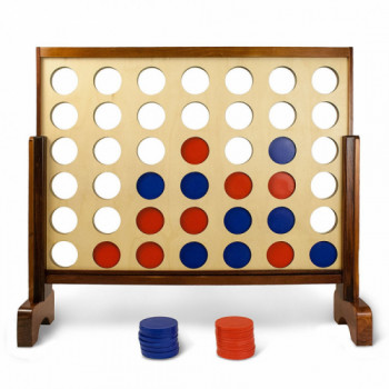 Giant Connect 4 in a Row rentals in Houston - Cloud of Goods