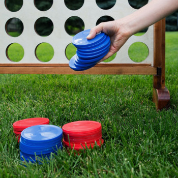 Giant Connect 4 in a Row rentals in Washington, DC - Cloud of Goods