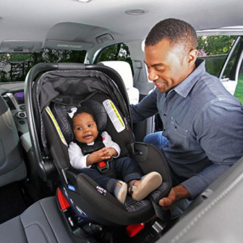 Rear-facing infant car seat rentals in
