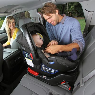 Rear-facing infant car seat rental San Francisco