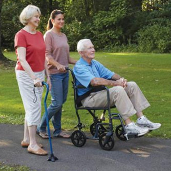 Lightweight Transport Wheelchair  rentals in  - Cloud of Goods
