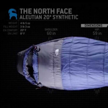 3 season sleeping bag 20f/-7c rentals in San Francisco - Cloud of Goods