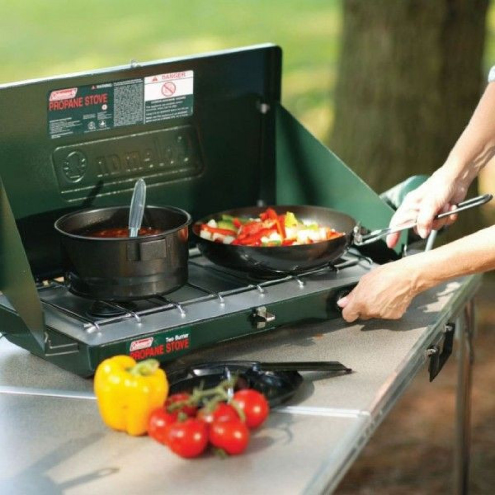 Portable 2-Burner Stove