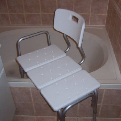Shower Stool Transfer Bench rentals in Orlando - Cloud of Goods