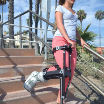 iWalk hands free crutch rentals in New York City - Cloud of Goods