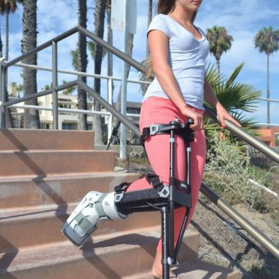 iWalk hands free crutch rental