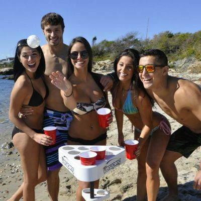 Beer pong set rental