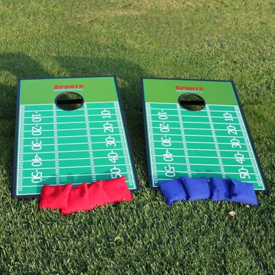 Corn hole game set