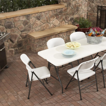 Portable 6-ft Table rentals in San Antonio - Cloud of Goods