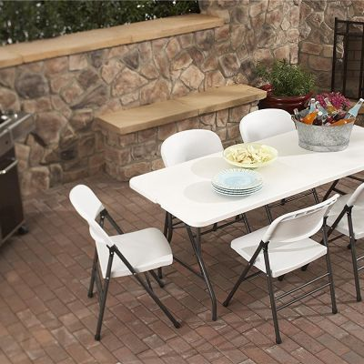 Portable 6-ft Table rentals in Anaheim - Cloud of Goods