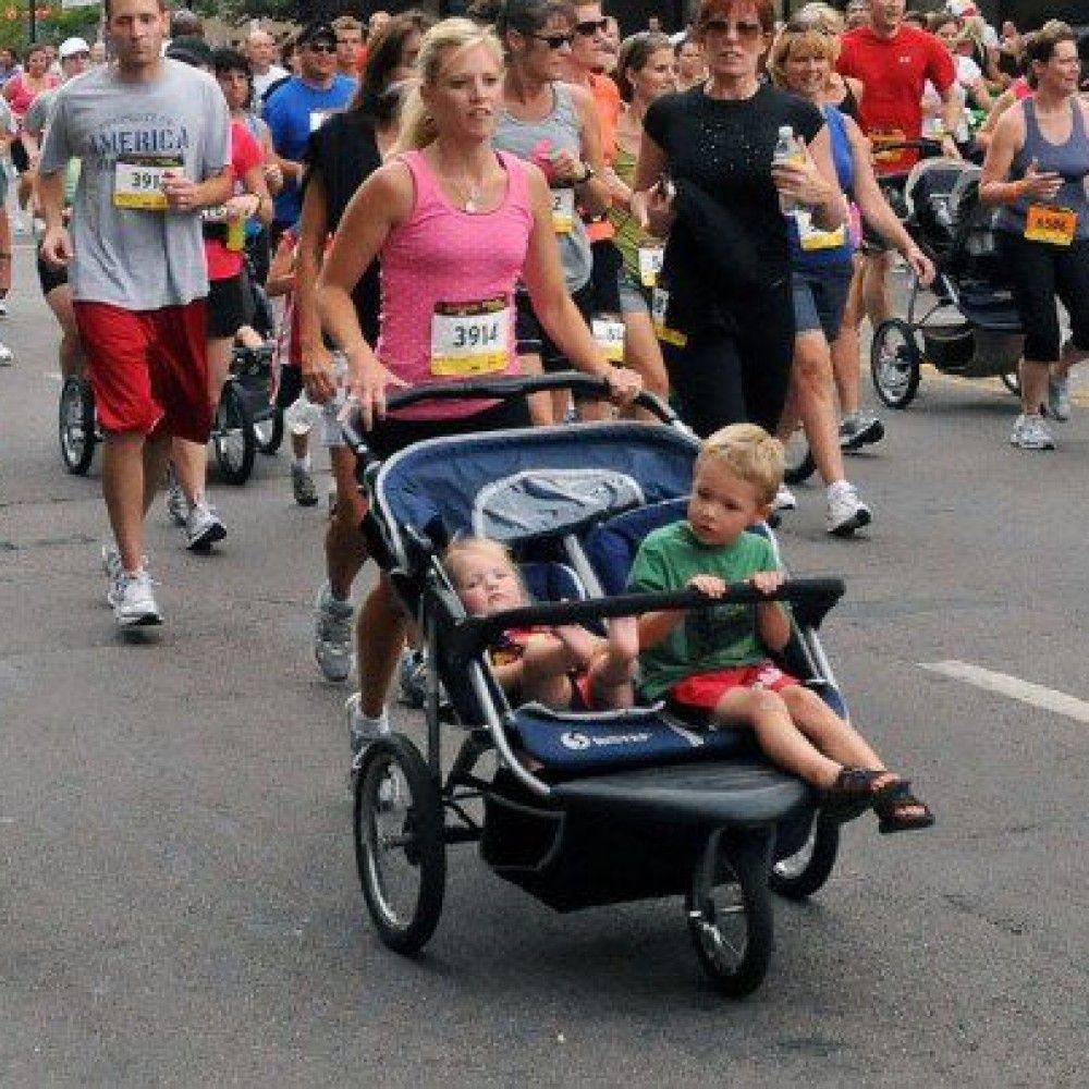 Double Jogger Stroller rentals in New Orleans - Cloud of Goods
