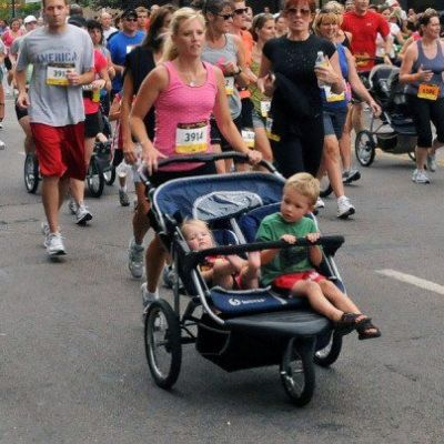 Double Jogger Stroller rental in New York City - Cloud of Goods