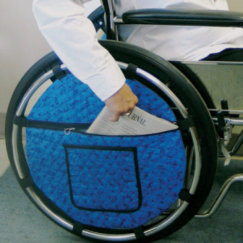 Storage Pocket for Wheelchair rentals in Orlando - Cloud of Goods