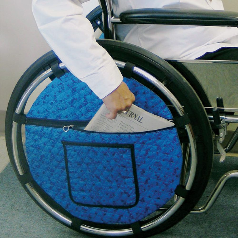 Storage Pocket for Wheelchair rentals in Houston - Cloud of Goods