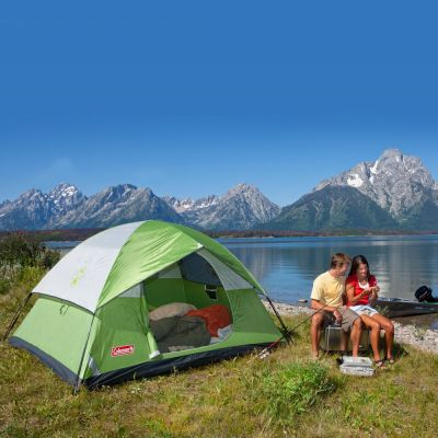 4-person camping tent rental San Francisco